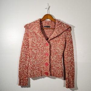 Zara Button Knit Sweater